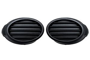 2012 2013 Ford Focus S Right Left Front Bumper Fog Light Hole Covers Set Oem New