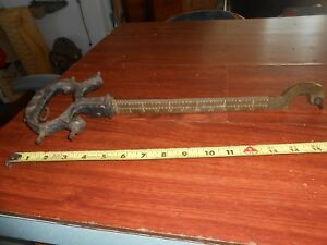 Vintage Antique Scale Arm Only Part For Weight Scale Toledo Detecto