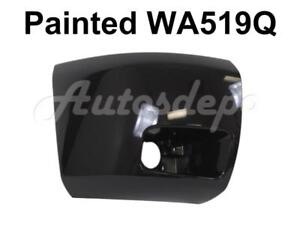 Painted Wa519q Front Bumper End Cap Rh For 2008 2010 Chevy Silverado 1500 W fog