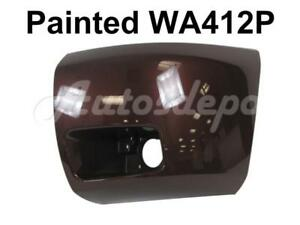 Painted Wa412p Front Bumper End Cap Lh For 2008 13 Chevy Silverado 1500 W fog Ho