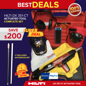 Hilti Dx 351 Ct Actuated Power Tool Preowned Free Speaker Items Fast Ship