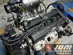 1999 2000 2001 Honda Crv 2 0l Dohc High Compression High Intake Engine Jdm B20b