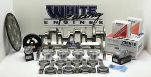 Bbc 496 Chevy Forged 4340 With Mahle Pistons Balanced Rotating Assy 1pc Rms 060