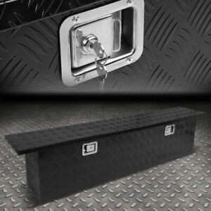 69 X11 X16 25 Aluminum Pickup Truck Trunk Bed Tool Box Trailer Storage W Lock