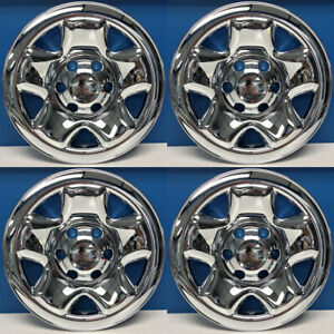 2005 2020 Toyota Tacoma 16 5 Spoke Chrome Wheel Skins Hubcaps Imp 68x Set 4