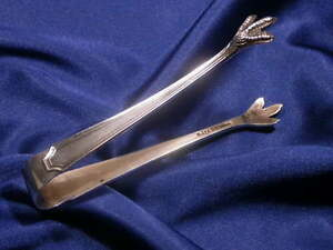 Durgin Fairfax Sterling Sugar Tongs Excellent Estate Condition