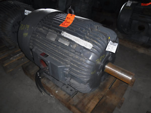 100 Hp Reliance Electric Motor 1200 Rpm 444t 445t Frame Tefc 460 V 1 15 Sf