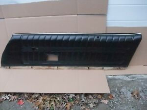 1974 1978 Pontiac Trans Am Camaro Door Panel R h Nice Oem Black