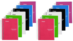 Five Star Fat Lil Notebook College Ruled 3 1 2 X 5 1 2 12 Pack