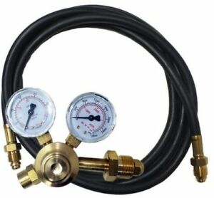 Norstar N302002 Flowgauge Regulator With Hose Inert Cga580