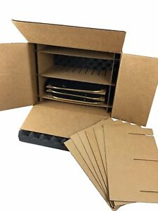 Picture Frame Shipping Storage Moving Box Holds 8 Frames Up To 13 5 X 10