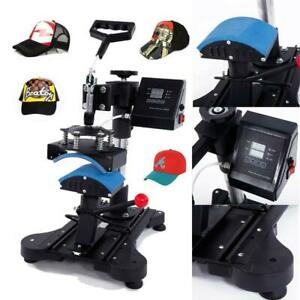 Digital Hat Cap Heat Press Machine Transfer Sublimation Pattern Machine 6 X 3