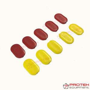 New Style Oe Corghi Master Mount Head 10pc Inserts Red Yellow 4 121167 461489a
