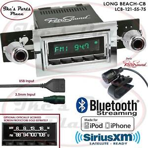 Retrosound Long Beach Cb Radio Bluetooth Ipod Usb Rds 3 5mm Aux In 121 55 Jeep