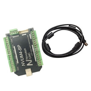 4 Axis Usb Cnc Controller Interface Board Controller Board 100k For Mach3