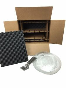 Kitchen Dish Pack Kit lot Of 2 Moving Shipping Storage Box Holds 8 Dishes 11