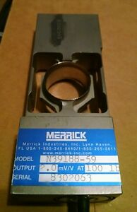 Merrick Load Cell Transducer N39188 59 Cell Load 100lbs