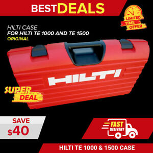 Hilti Case For Te 1000 And Te 1500 avr New Durable Fast Ship