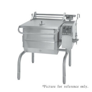 Groen Bpp 30gc Gas Tilting Skillet Braising Pan 104 000 Btu replaces Bpp 30g