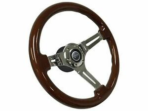 1968 1973 Mercury Cougar Mahogany Steering Wheel Kit Cougar 3d Emblem