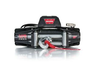 Warn Vr8 8000lb Winch 12v Hawse Fairlead 94 5 16 Wire Cable Rope
