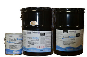 Liquid Rubber Black Liquid Epdm Coatings For Roof 5 Gallon F9999 5