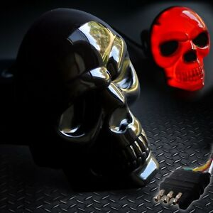 Skull Hitch Cover Black 6529 Led Tow Hitch Light Cover Fits 2 1 1 4 Both