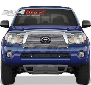 Fits Toyota Tacoma 2006 2007 2008 2009 Stainless Chrome Billet Grille Top Only