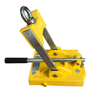 Armstrong Magnetic Plate Lifter Pl a 1980 Lb Breakaway 660 Lb Max Lift Cpcty
