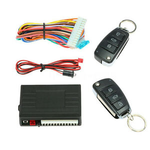 Universal Car Remote Central Kit Door Lock Auto Safety Keyless Entry System