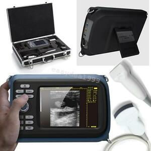 Mini Portable Handheld Digital Ultrasound Scanner Machine Convex Linear Battery