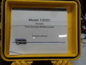 Riserbond 1205c Tdr With Fresh Gel Cell Pack And Chargr Free Shipping