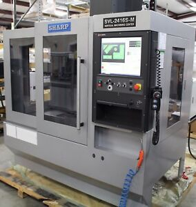2013 Sharp Svl 2416s m Mill Vertical Machining Center Cnc Ref 7792052
