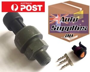 Genuine Ti 10 Bar 150psi Gauge Pressure Sensor For Oil Fuel Haltech Link Vipec