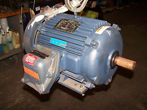 New Leeson 10 Hp Ac Electric Motor 230 460 Vac 3535 Rpm 215t Frame Epfc