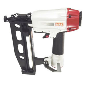 Max Usa Zr98501 100 psi 3 tool Pneumatic 15ga Brad 18ga Finish Stapler Combo