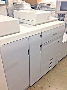 Canon Imagepress C700 Color Copier printer Am2 Fin Low Meter
