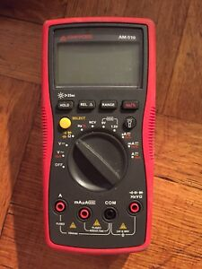 Amprobe Am 510 Commercial residential Multimeter As Is