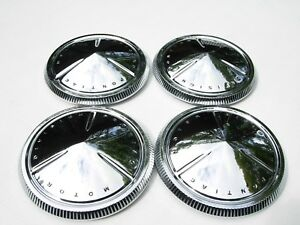 Pontiac Motor Division Hubcaps Baby Moons Poverty Fullsize Wtf What They Fit