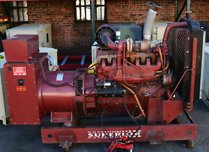 Superior 125kw Continuous Standby Diesel Generator 277 480 V Ac 3 phase 156kva
