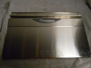 Faema E92 Due smart Series Stainless Rear Cover