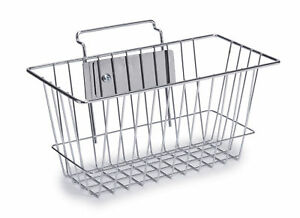 Universal Iv Pole Accessories Wire Basket 1 Ea