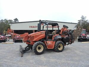 2007 Ditch Witch Rt115 Trencher Combo Vermeer Low Hours Good Condition