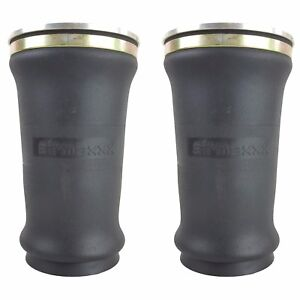 2 Tapered Sleeve Air Bags Single 1 4 Npt Port Air Ride Suspension Rolled Spring