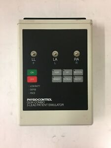 Medtronic Physio Control 806223 01 Quick Combo 3 Lead Patient Simulator