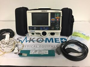 Lifepak 20 3 lead Ecg Aed And Spo2 Re certified