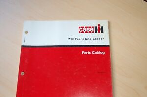 Case Ih 710 Front End Loader Tractor Parts Manual Book Catalog List Index Spare