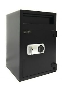 Southeastern Cash Drop Safe Box Depository Safe F3020ice With Quick Digital Lock