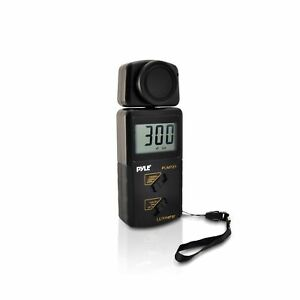 Pyle Plmt21 Handheld Lux Light Meter Photometer With 20000 Lux Range Per Seco
