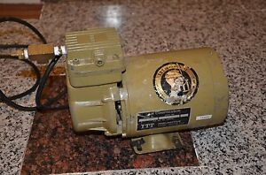 Gould Itt Pneumotive Lgh 210 Oil less Air Compressor Pump 1 6 Hp P n 7 140969 21